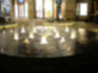 丸の内パークビル噴水 噴水照明 アッパー照明