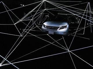 レクサス RX ミュージアム イベント照明
