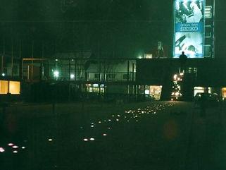 長野オリンピック表彰花道 星空照明 埋設照明