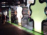 ラフォーレ原宿 埋設 ライン照明