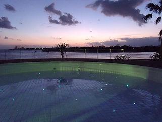 石垣リゾートホテル 星空水中照明