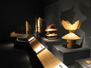 松阪市文化財センター スポット ショーケース 照明