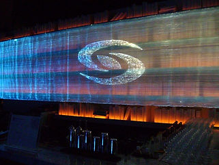 マイルドセブン ロゴ幕 イベント照明