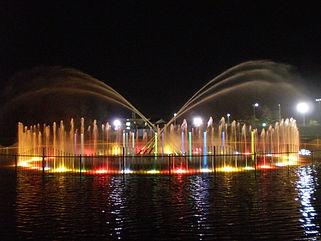 碧南臨海公園水中照明