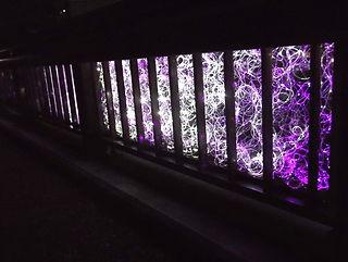 安西橋 イベント照明