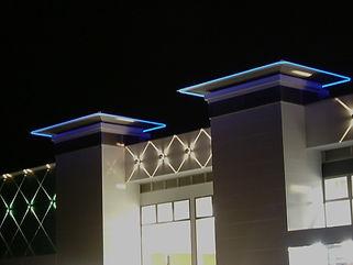 パチンコたまや 南新町店 ライン照明