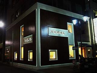 リーガル銀座店 間接照明