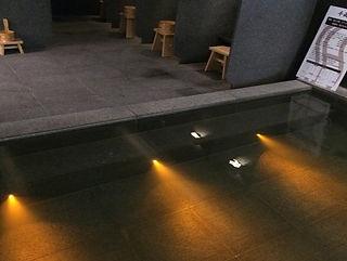 スーパーホテル鹿島水中照明