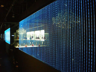 club LUXURY ファイバーカーテン照明