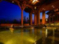 長久手花しょうぶの湯 展望風呂 水中照明