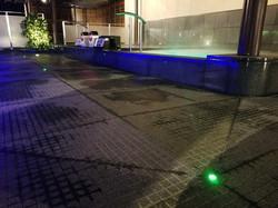 天空 SPA HILLS 竜泉寺の湯守山店 通路灯