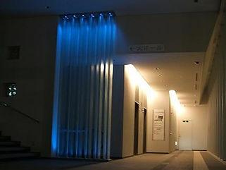 杉並公会堂 間接照明
