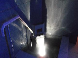 東急ハーベスト京都鷹峰 水風呂 水中照明