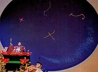 金婚亭 星空照明