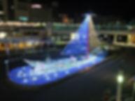 駅前東ロータリー2012 イルミネーション 照明