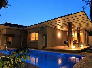 ガハマハウス水中照明