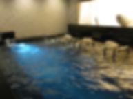 ホテル川久 ジャグジー風呂水中照明