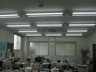 LED蛍光灯交換工事 彩電