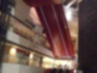 クイーンズスクエア横浜 ライン照明