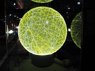九龍橋 月 造形照明