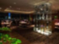 THE DINING シノワ 唐紅花&鉄板フレンチ 蒔絵 星空照明