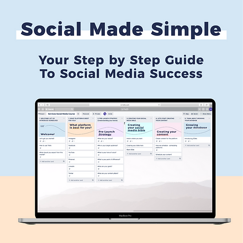 Social Made Simple - Your Step By Step Guide To Your Social Media Success