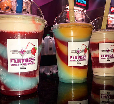 Delicious Daiquiri Combinations at Flavors Wings N Daiquiris