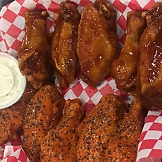 10 Wing LUNCH Combo