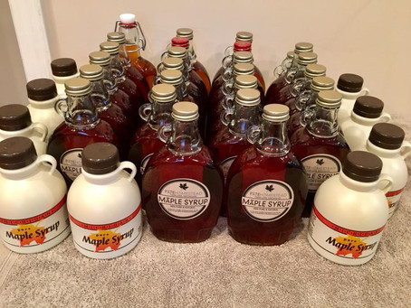 The End of Maple Syrup Season
