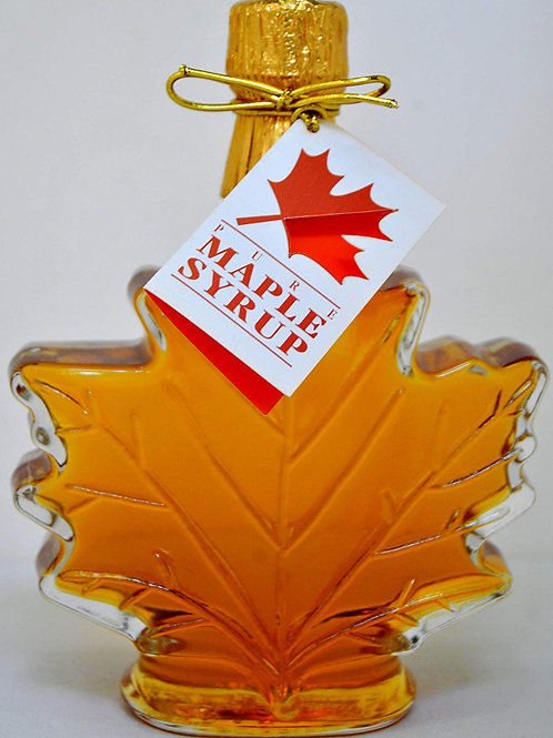 3.5oz. Maple Leaf Bottle Syrup