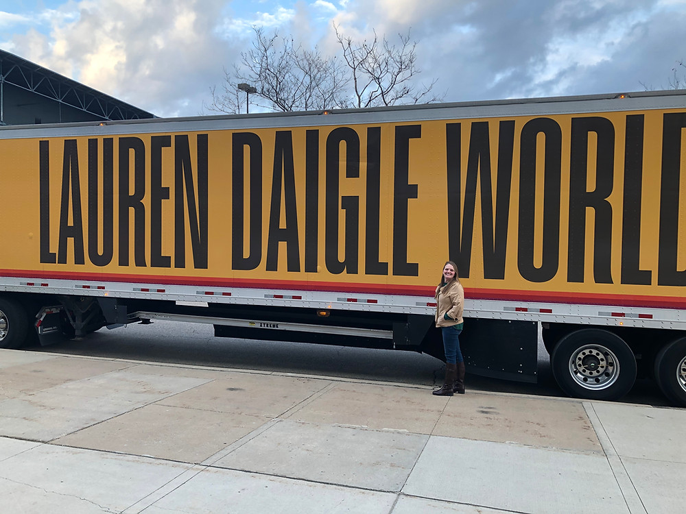 On Thursday, March 12, 2020, we attended Lauren Daigle's concert in Grand Rapids, MI. It would be the last indoor large-scale event in Michigan for a very, very long time.