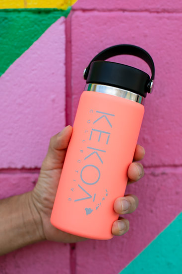 HYDRO FLASK 16 OZ WIDE MOUTH - HYBISCUS -
