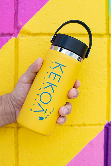 HYDRO FLASK 16 OZ WIDE MOUTH - SUNFLOWER -