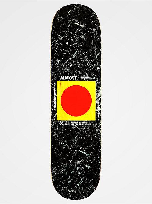 Almost Skateboards: Minimalist Embossed 8.25