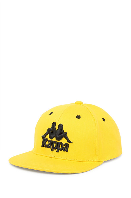 Kappa Bzadem Yellow Snapback