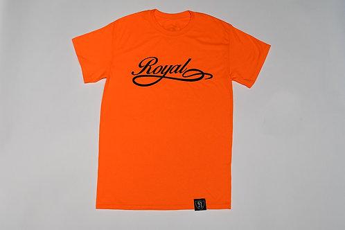 Royal SNA: Team Script Tee Orange/Black