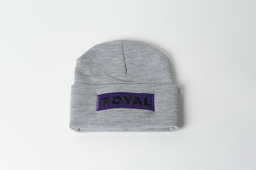 Royal SNA: Block logo purple/black