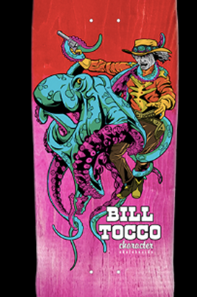 Character Skateboards: Bill Tocco Collab 8.875