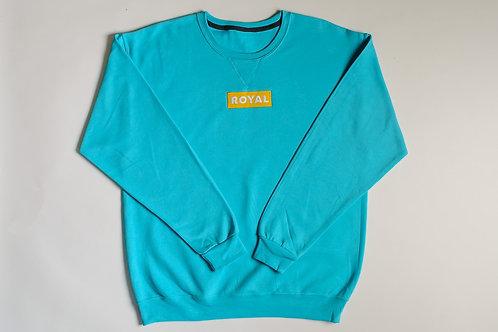 Royal SNA: Block Logo crew sweater blue/gold/white