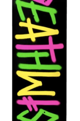 Deathwish Skateboards: Og spray logo deck 8.0