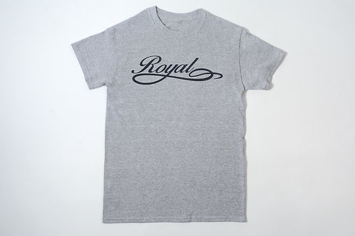 Royal SNA: Script tee gray/black