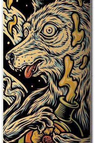 Element Skateboards: Timber Wolf Deck 8.38