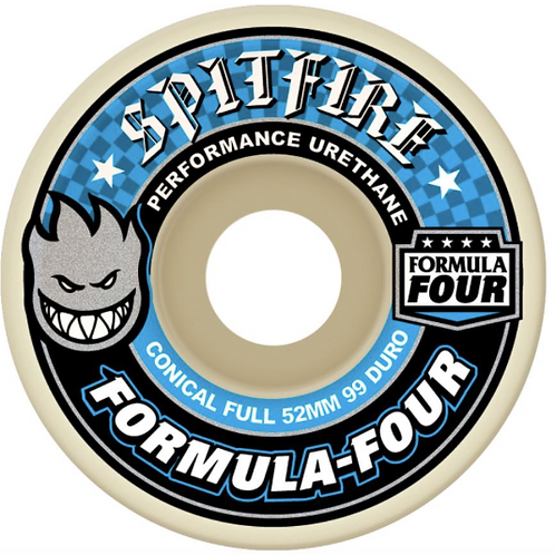 Spitfire wheels: Formula 4 conical full 53mm