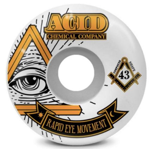 Acid Chemical Co. Rapid Eye Movement wheels 55mm