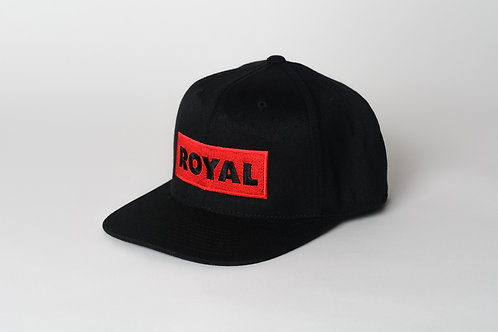 Royal SNA: Block logo flatbill snap back