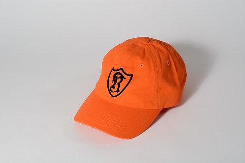 Royal SNA: Shield dad hat orange/black