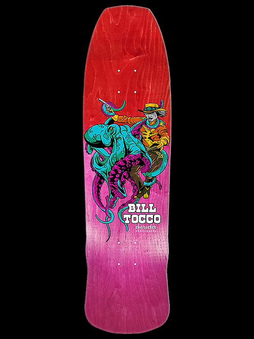 Character Skateboards X Bill Tocco: Fade 5 Deck 8.875
