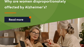 Why are women disproportionately affected by Alzheimer's?