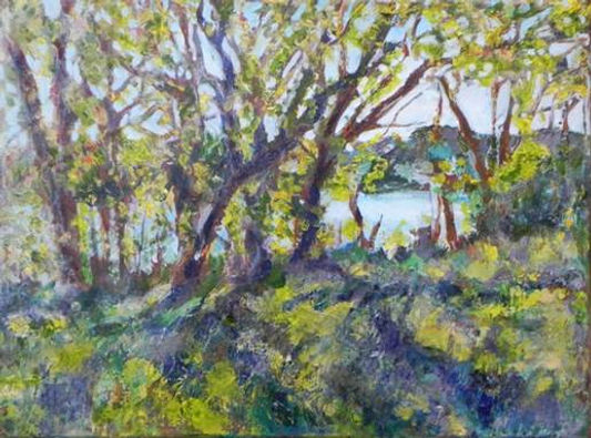 """View of the Red River"" by Pam Rayner Moore"
