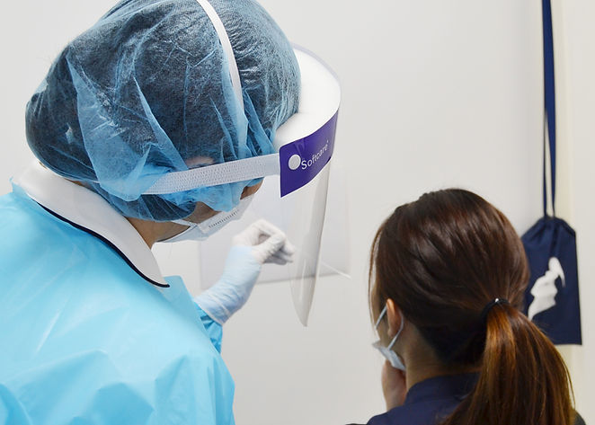 PCR検査検体採取